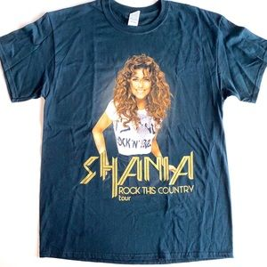 "Shania Twain ""Rock This Country"" Tour Band T-Shirt"